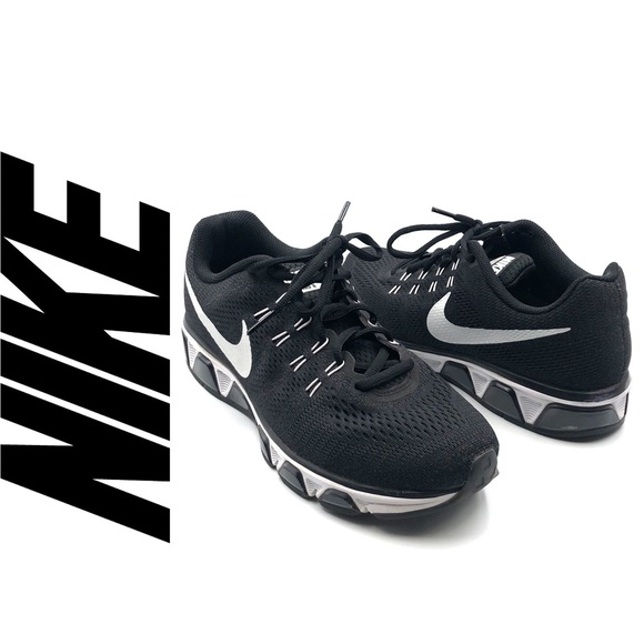 pretty nice 7c369 8f114 Nike Air Max Tailwind 8 Black & White Shoes